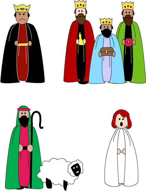 Free Nativity Clipart Silhouette   Clipart Panda   Free Clipart Images