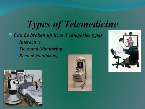 telemedicine research proposal