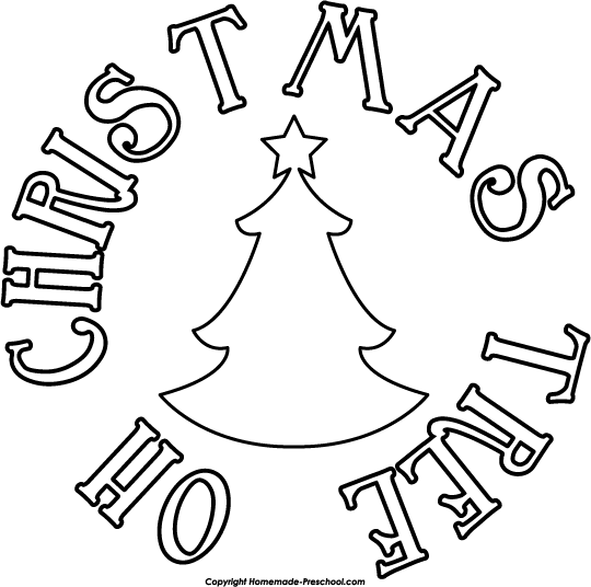 Home   Free Clipart   Christmas Tree Clipart   Oh Christmas Tree