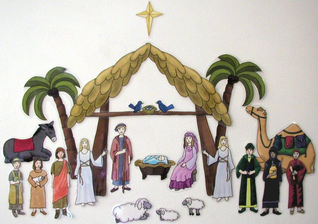 Lds Christmas Nativity Clip Art For Free