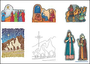 Nativity Clipart On Lds About
