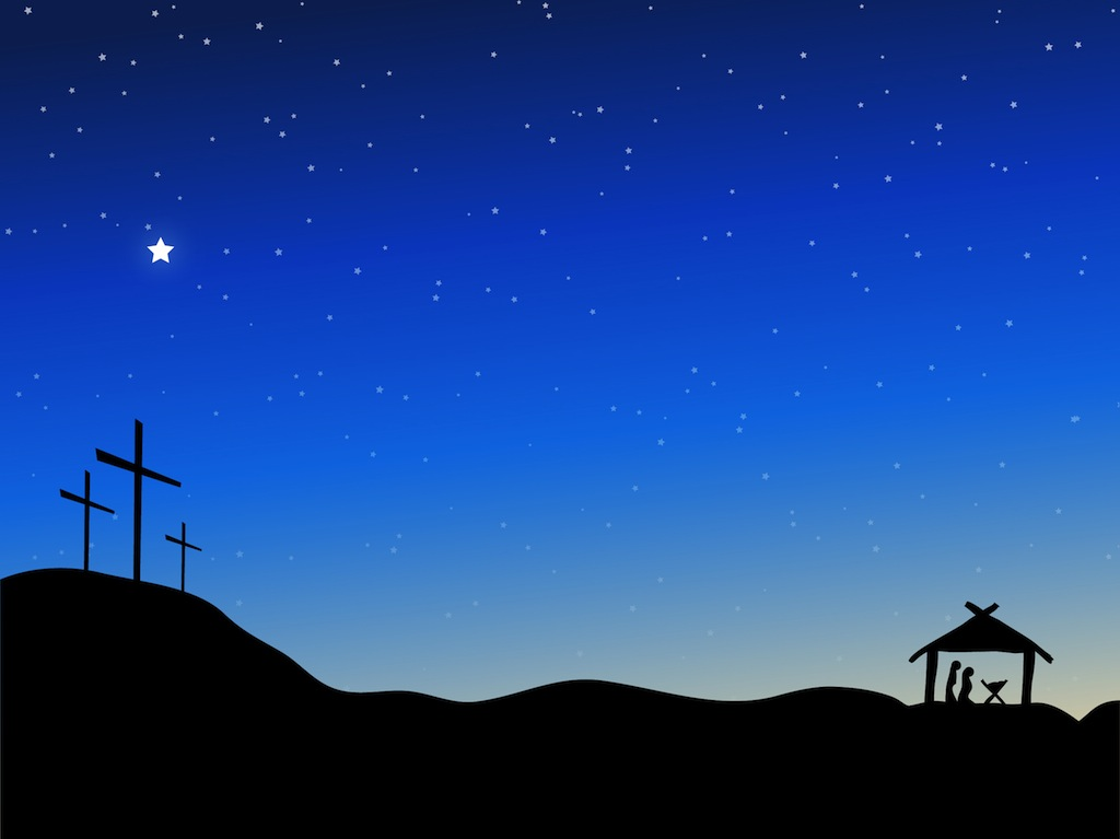 christmas night sky clipart - photo #7