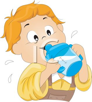 Clip Art Drinking Clipart drinking milk clipart kid this toddler from a sippy cup clip art image is