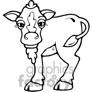Cow Clip Art Photos Vector Clipart Royalty Free Images   9