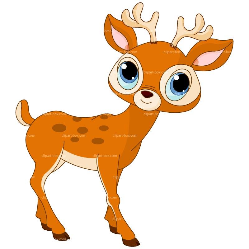 free clipart cartoon deer - photo #38