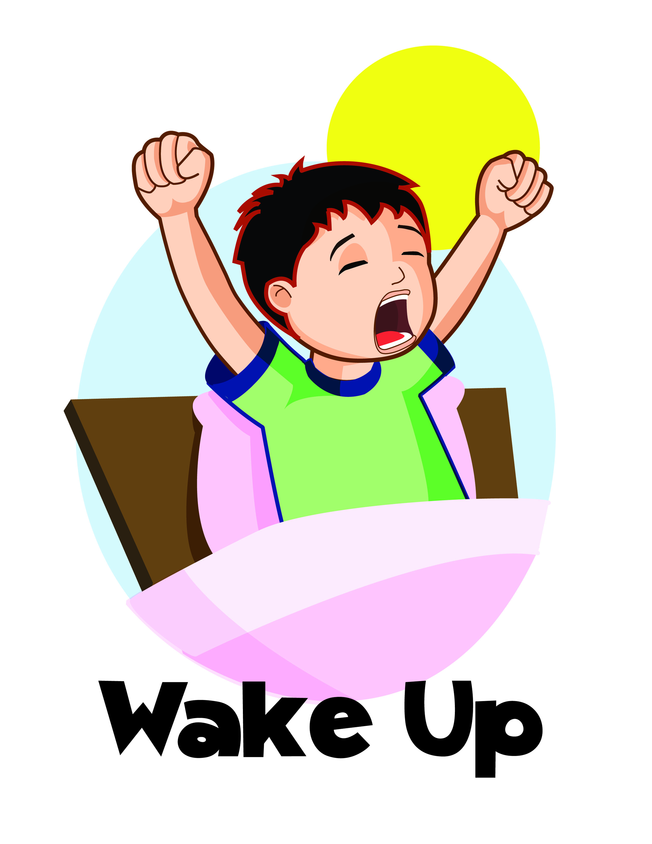 Get In Bed Clipart - Clipart Kid