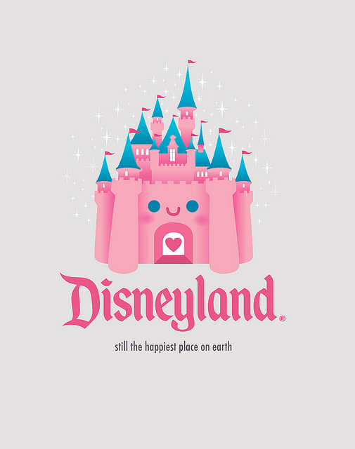 Kawaii Castle   Disneyland   Flickr   Photo Sharing