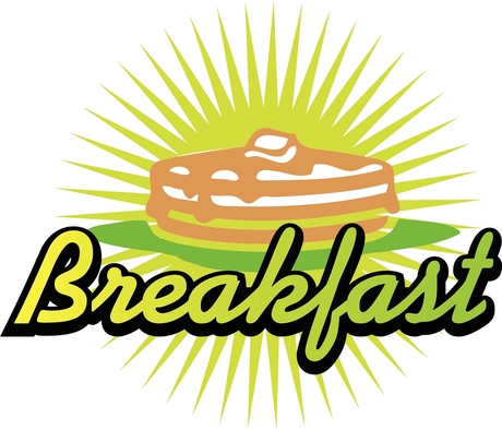 Sunday Breakfast Clip Art