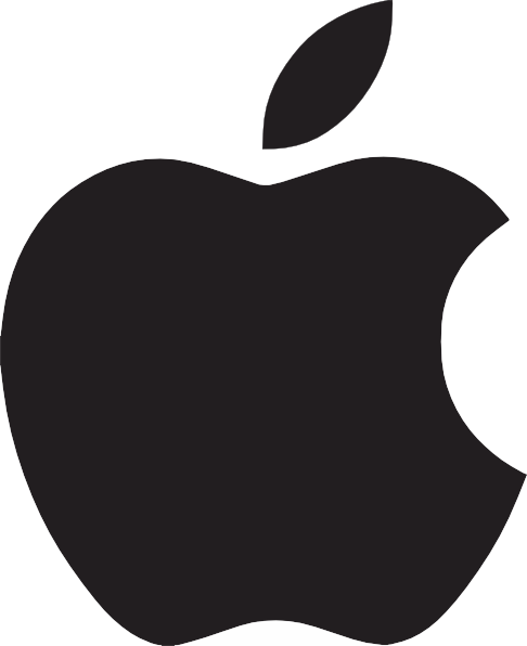 Apple Logo Clip Art At Clker Com   Vector Clip Art Online Royalty