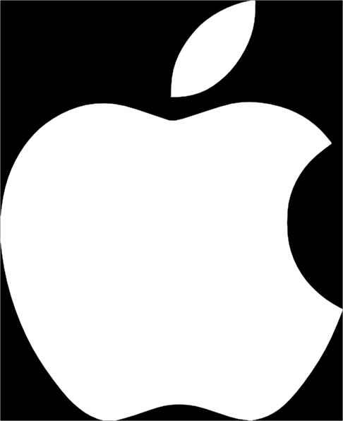 apple logo clipart - photo #44