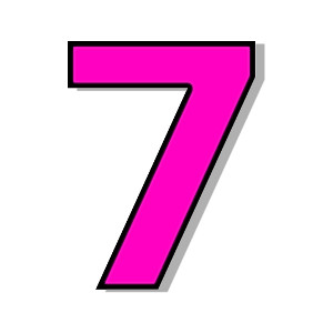 your number 7 clipart clipart suggest number 7 clipart 7 clipart black and white