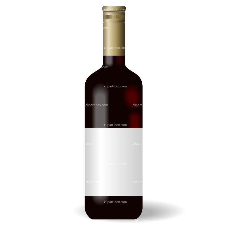 Clipart Alcohol Bottle   Royalty Free Vector Design