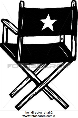 Clipart   Director Chair 2  Fotosearch   Search Clip Art Illustration