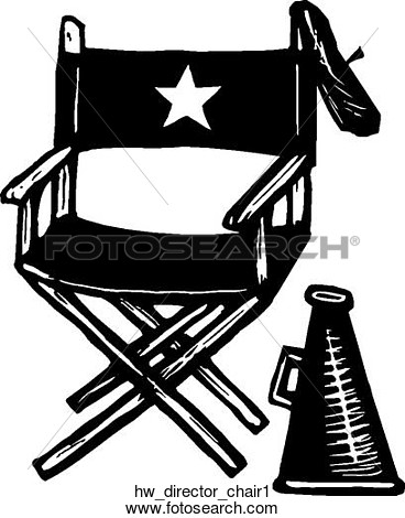 Clipart Of Director Chair 1 Hw Director Chair1   Search Clip Art