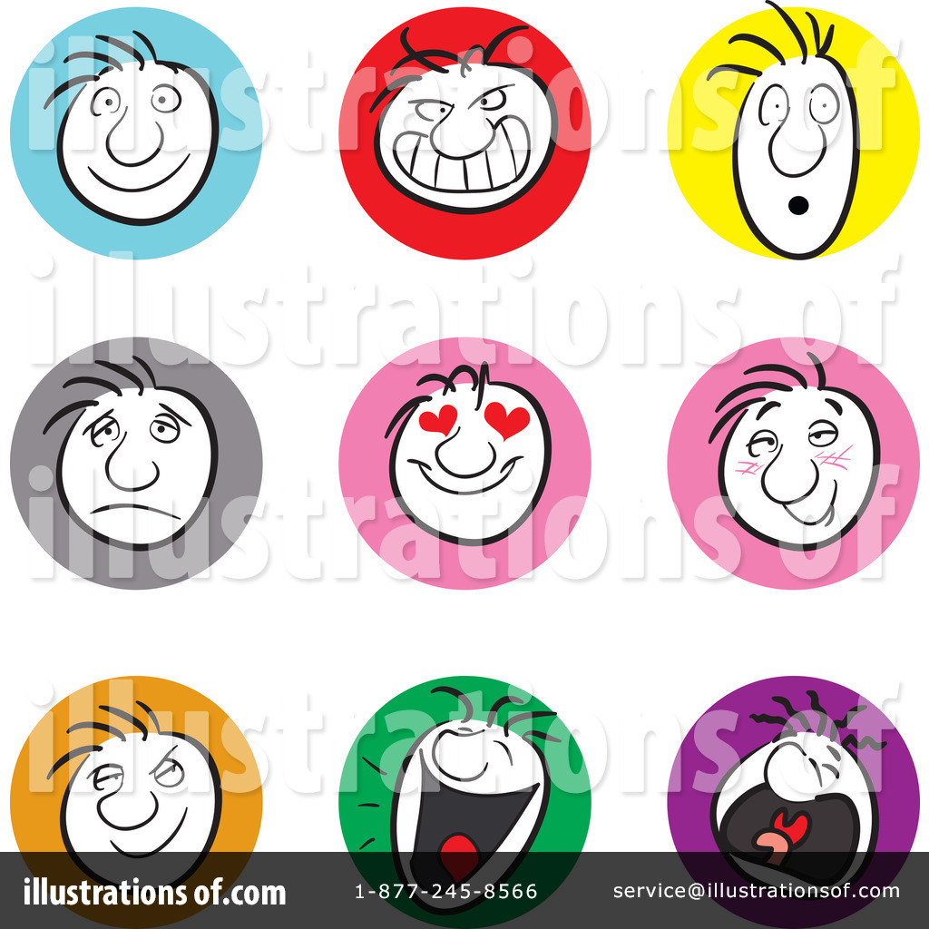 Frustrated Face Clip Art Facial Expression Clipart