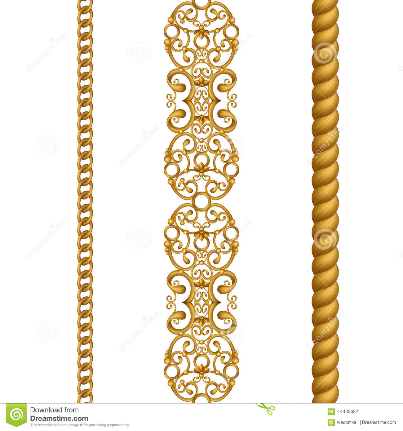 Gold Lace Borders Clipart - Clipart Kid