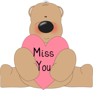 Miss You Clip Art