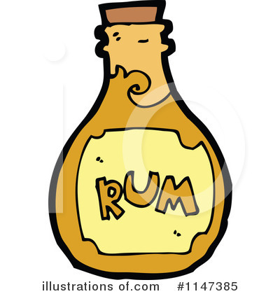 Rum Clipart  1147385   Illustration By Lineartestpilot