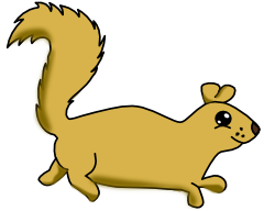 Running Squirrel Clip Art Images   Pictures   Becuo