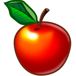Shiny Red Apple Icon Png Clipart Image
