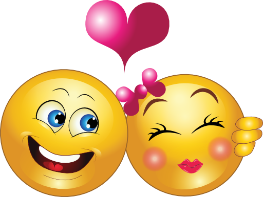 Couple smiley faces clipart clipart kid