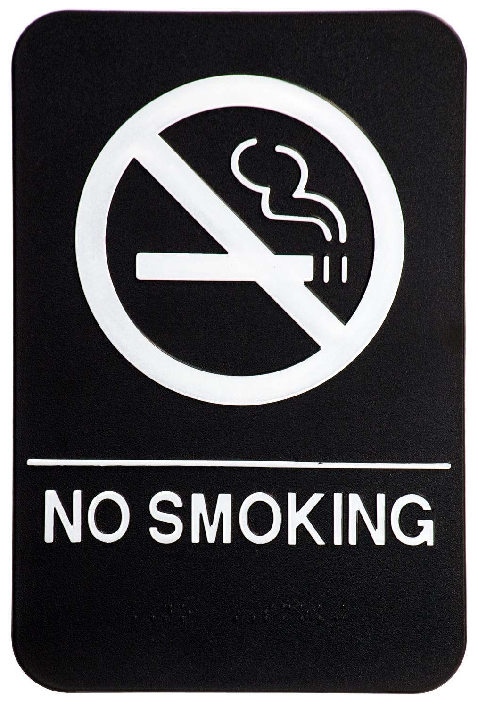 smoking sign No