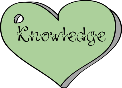 Clip Art   Knowledge   Young Woman Value   Heart   Green 418
