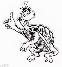 Dr seuss black and white clipart clipart suggest for Yertle the turtle coloring page