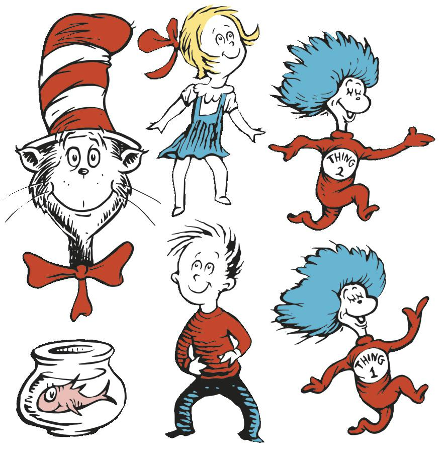 Dr Seuss Black And White   Clipart Panda   Free Clipart Images