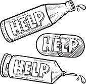 Drug and Alcohol Recovery Clip Art