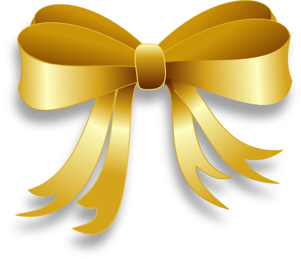 Gold Ribbon Clip Art At Clker Com   Vector Clip Art Online Royalty