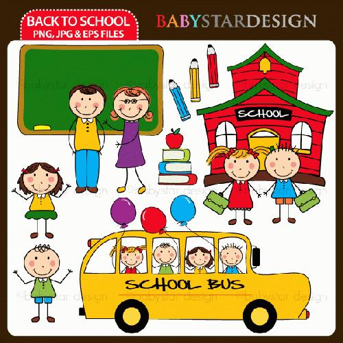My Grafico  Back To School Clipart