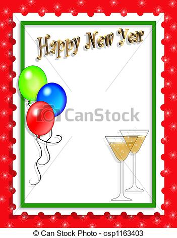 New Years Clipart Border   Clipart Panda   Free Clipart Images