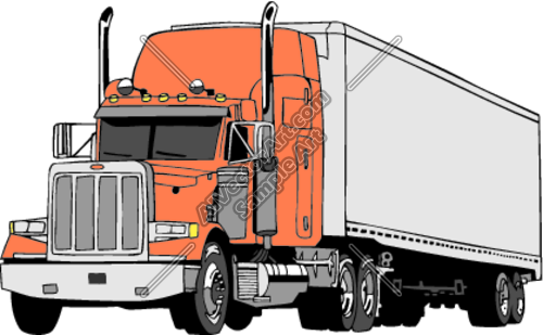 Semi Truck Clip Art Car Pictures