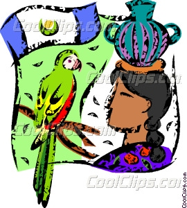 Central America Vector Clip Art