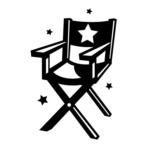 Director Chair Clipart Director Chair C