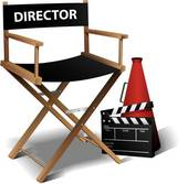 Directors Chair Clip Art Eps Images  371 Directors Chair Clipart