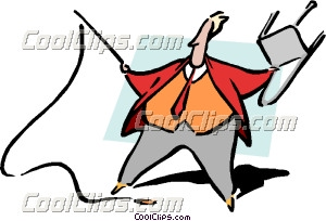 Office Ringmaster Clip Art