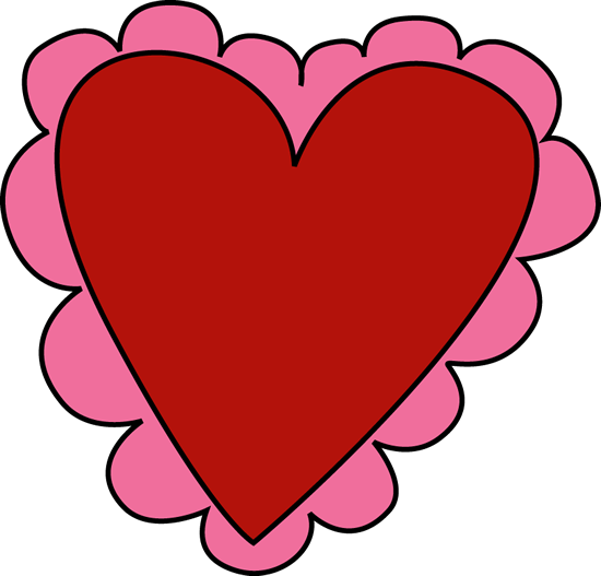 Valentine's Day Hearts Clipart - Clipart Kid