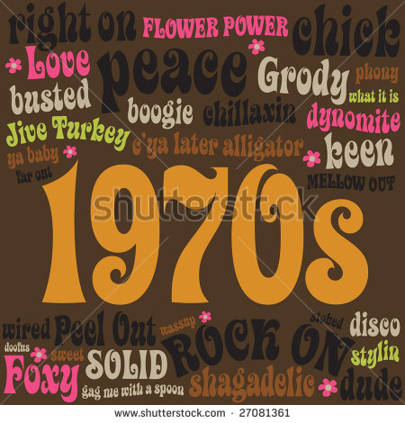 1970s Phrases And Slangs Stock Vector 27081361   Shutterstock