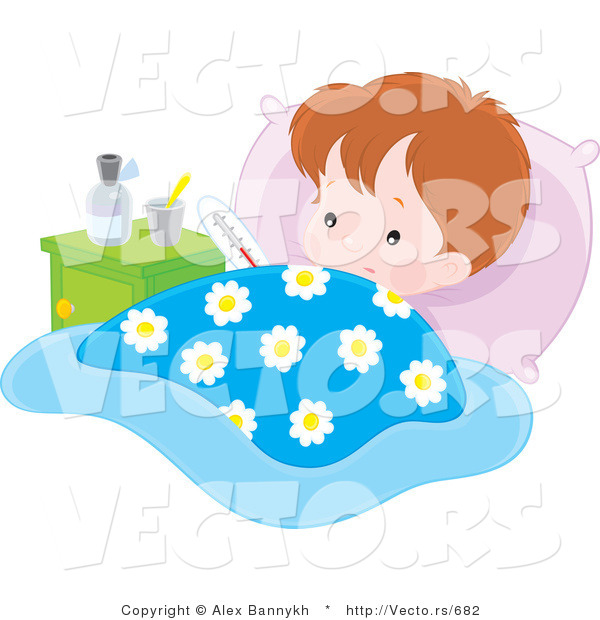 Baby Bed Clip Art Http   Vecto Rs Design Vector Of A Sick Baby Boy