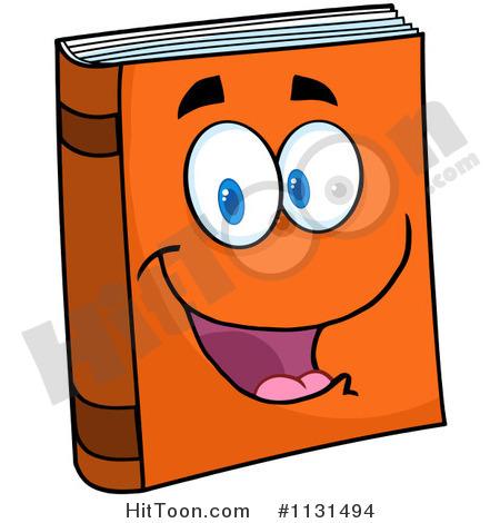 Book Character Clipart   Vectors  1