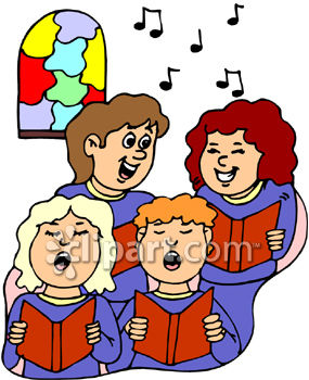 Choir Clipart 0060 0909 2218 2423 A Female Choir Singing Clipart Image