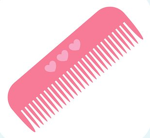 hair brush and comb clipart clipart suggest