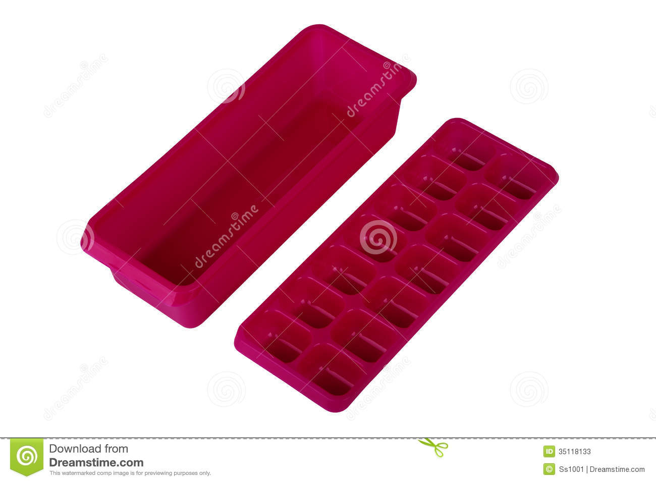 Ice Cube Tray In Freezer Clipart Ice Cube Tray With The