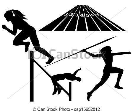 Javelin Throw    Csp15652812   Search Clipart Illustration Drawings