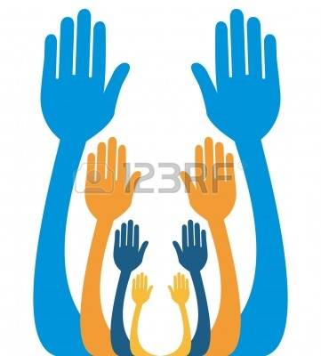 Reaching Hands Clipart   Clipart Panda   Free Clipart Images