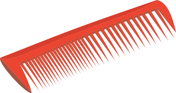 Image result for red hairbrush clipart