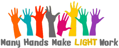 Sayings  Many Hands Make Light Work   Church Work Day This Saturday