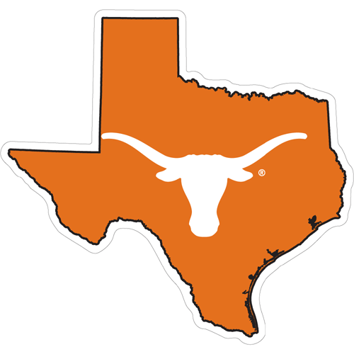State Of Texas Outline With Longhorn       Clipart Best   Clipart Best